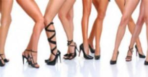piernas de mujer tacones